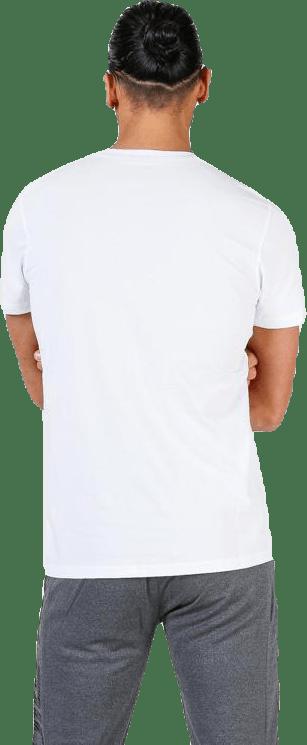 Team Logo Tee White
