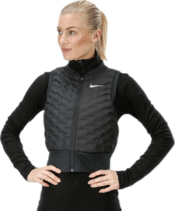Aeroloft Crop Vest Black