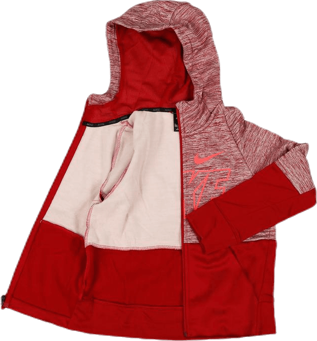 Therma Hoodie Front Zip GFX Youth Red