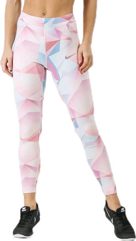 Speed Printed Tight 7/8 Pink/White