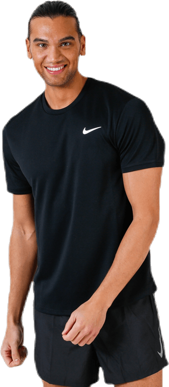 Court Dry SS Top Black
