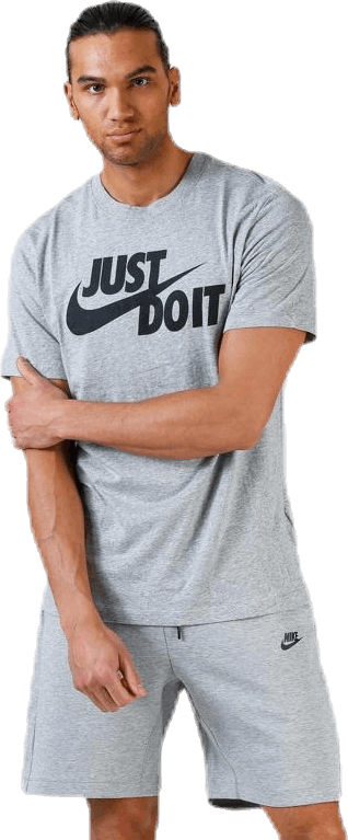 Just Do It Swoosh Tee Grey
