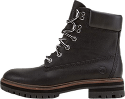 6-inch London Square Boot Black
