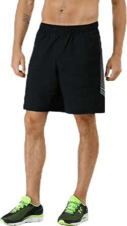 Woven Graphic Short Black
