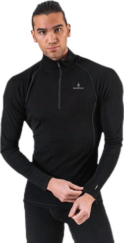 Merino 200 BL Zip Black