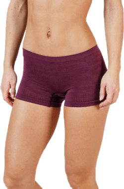Merino Seamless Boy Short Purple