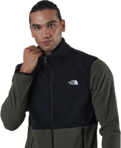 TKA Glacier Full Zip Jacket Black/Green