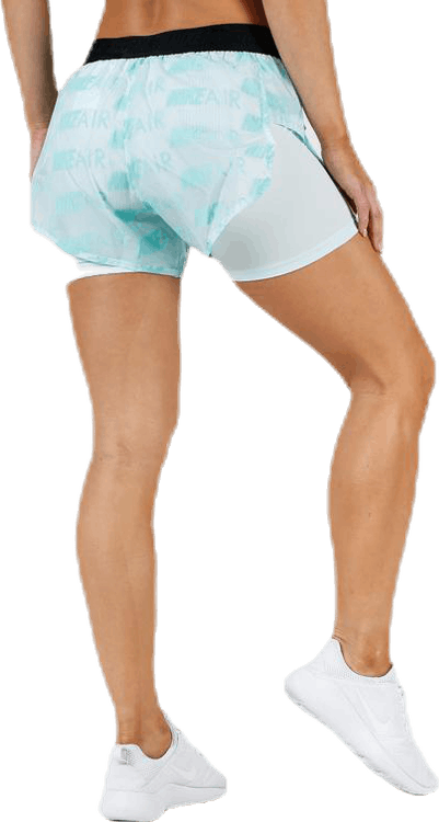 Air Short Turquoise/White