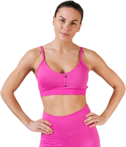 Favorites Surf to Sport Bra Pink/Black
