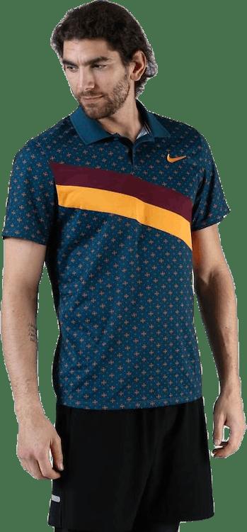 PS Polo Shirt Blue/Gold