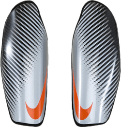 Attack CF Elite Shinguards Grey/Silver