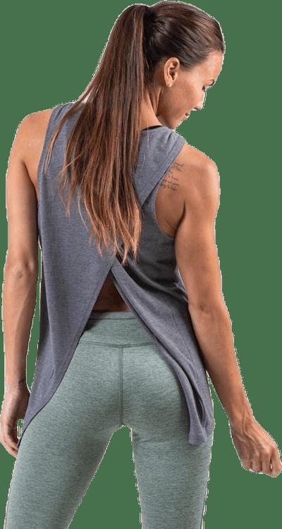 Yoga Tank GRX White/Grey