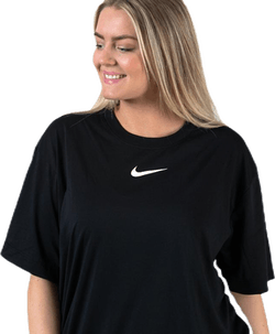 Swoosh Dress Plus White/Black