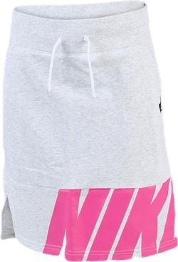 Air Fleece Skirt Youth Pink/Grey