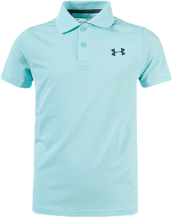 Performance Polo 2.0 Youth Turquoise