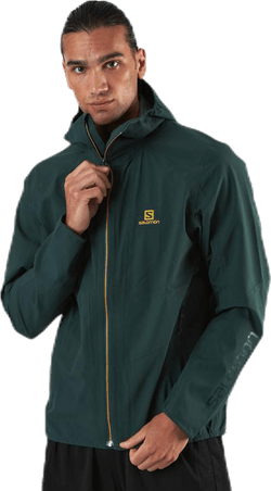 Outline Jacket Green
