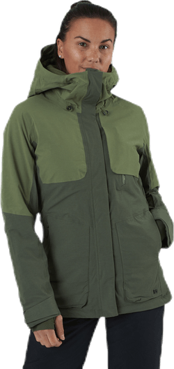 Proof Lt Insulated Jacket Green
