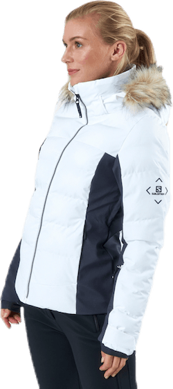 Stormcozy Jacket White