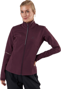 Agile Softshell Jacket Purple