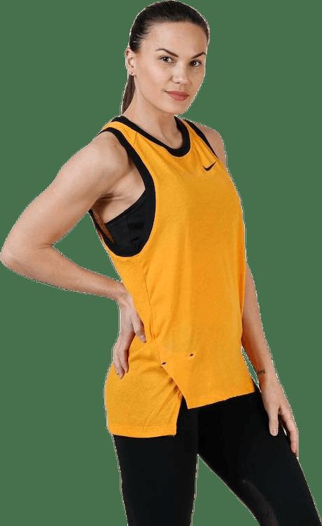 Dri-Fit Elite Women'S Tank Canyon Gold/Black