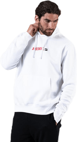 Just Do It Hoodie White