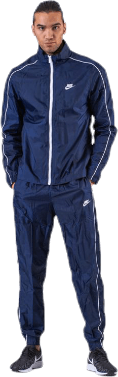 Track Suit Woven Basic Blue/White