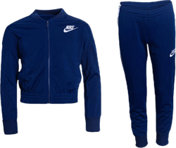 Girls Tricot Essential Tracksuit Blue