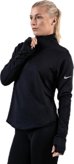 Sphere Element Half-Zip Top Black