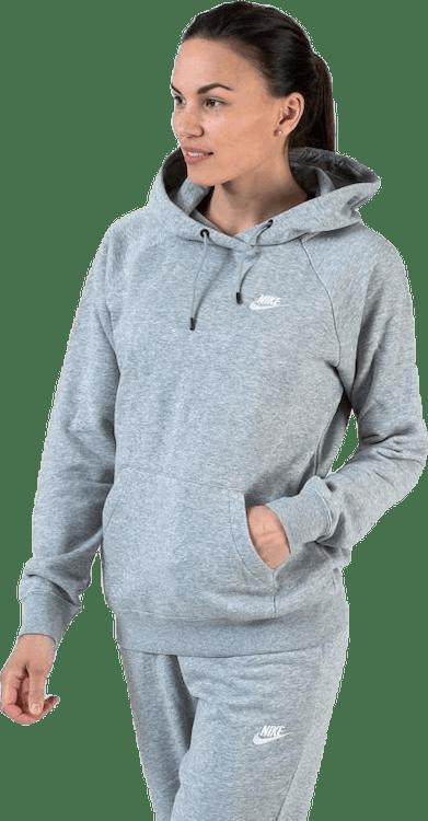 Essential Hoodie White/Grey