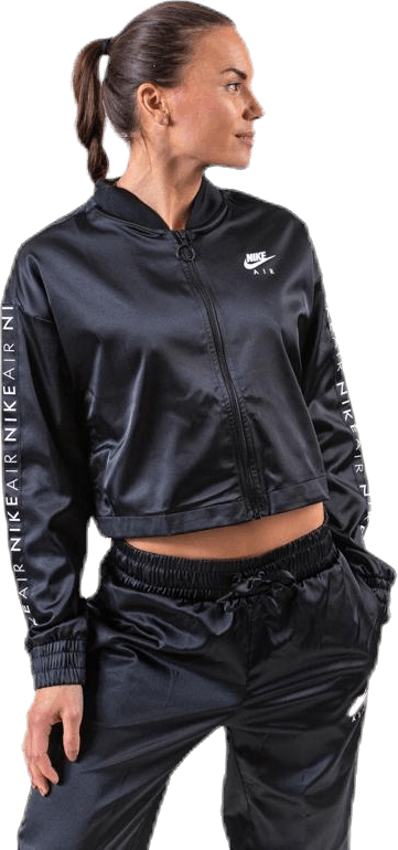 Nsw Air Satin Track Jacket Black
