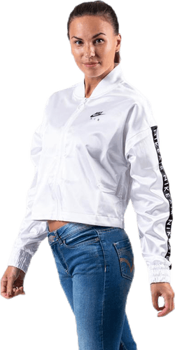 Nsw Air Satin Track Jacket White