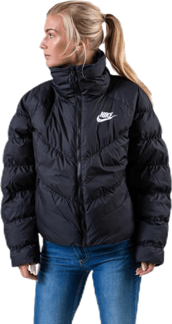 Nsw Padded Jacket White/Black