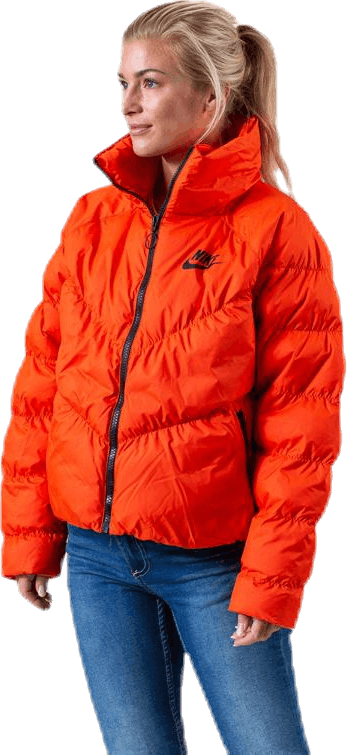 Nsw Padded Jacket Orange