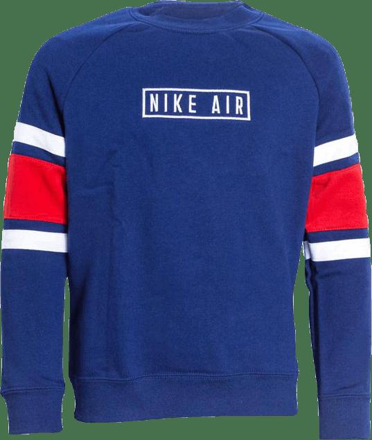 Boys Air Crew Blue/Red