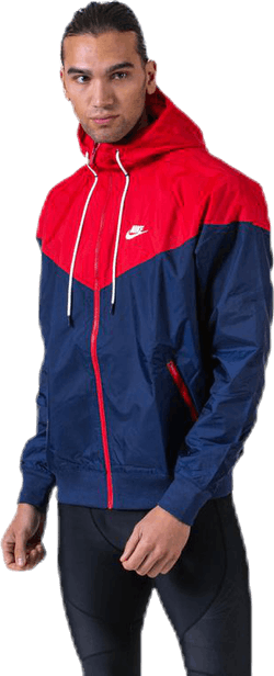 Heritage Wind Jacket Blue/Red