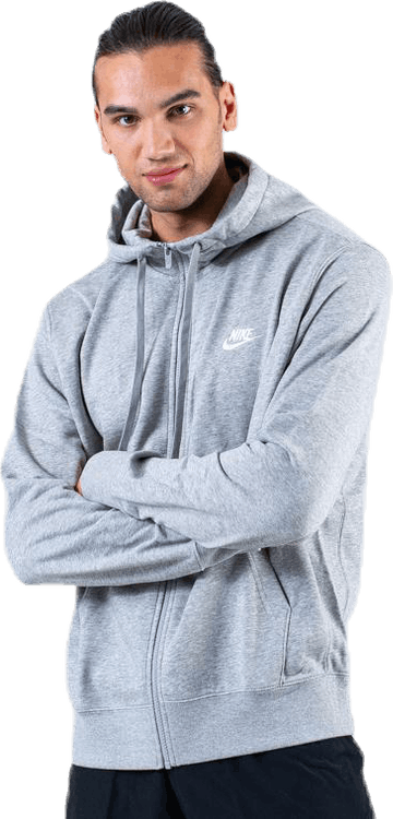 NSW Club Hoodie FZ White/Grey