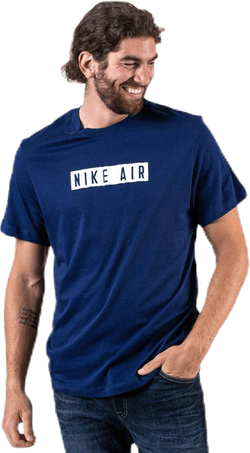 NSW SS Tee Nike Air 3 Blue/White