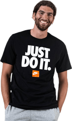 Just Do It Tee SS Black