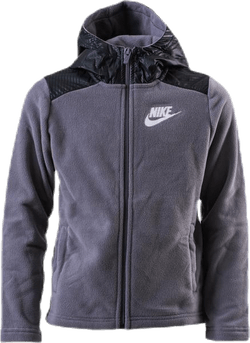 Jr Winterized FZ Hoodie Black/Grey