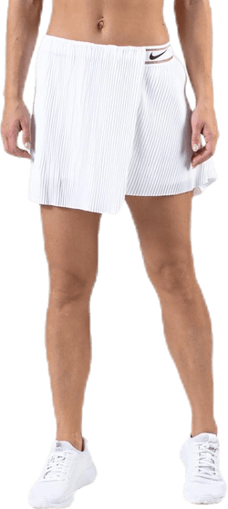 Court Slam Victory Skirt White/Black