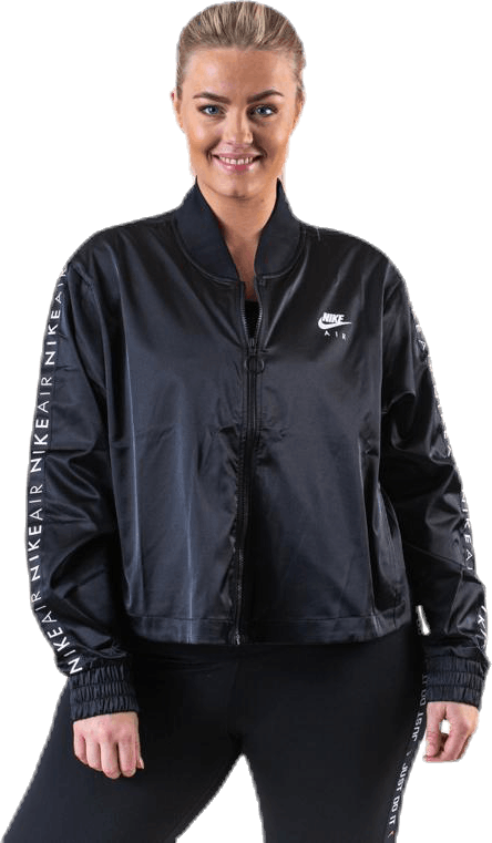 Nsw Air Track Jacket Satin Plus Black