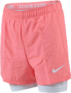 Nike Dri-FIT 2-in-1 Youth Pink/White