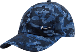 Jr H86 Metal Swoosh Camo Blue