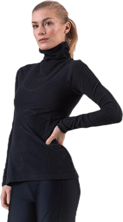 Pro HyperWarm Velour Top Black