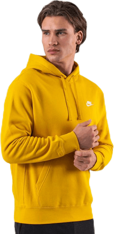 Club Hoodie  White/Yellow