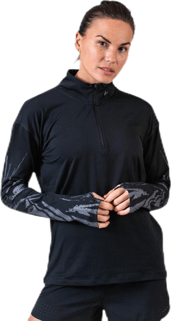 Element Flsh Half-Zip Black/Silver