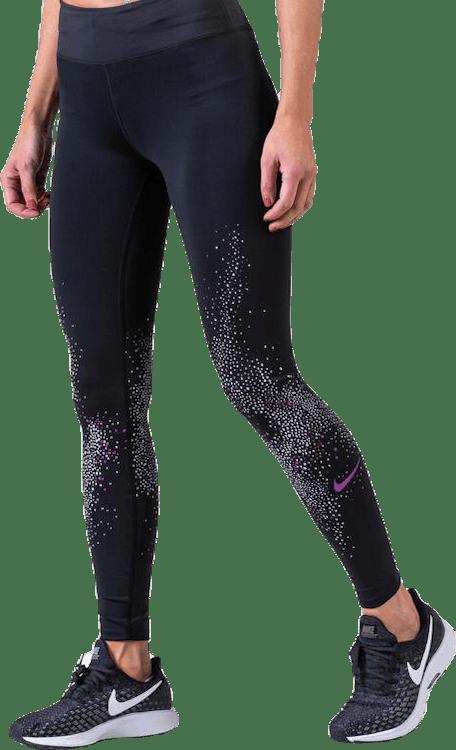 Flash Running Tights Purple/Black