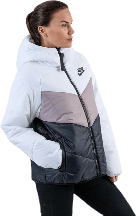Windrunner Synthetic White/Black