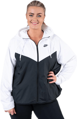 NSW Jacket Fem Plus White/Black