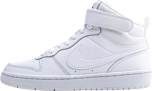 Court Borough Mid Sneaker GS White